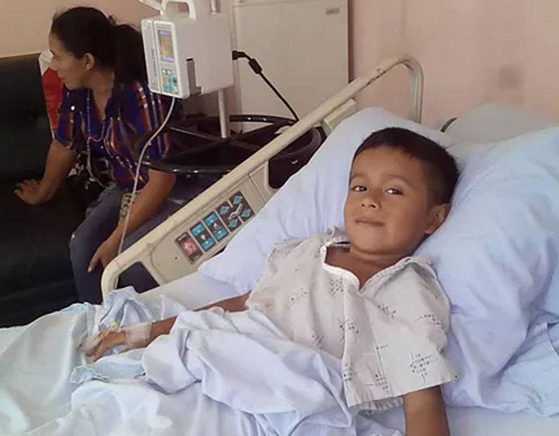 Child in hospital (Honduras)