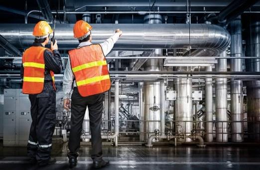 Technicians doing QA/QC at new construction