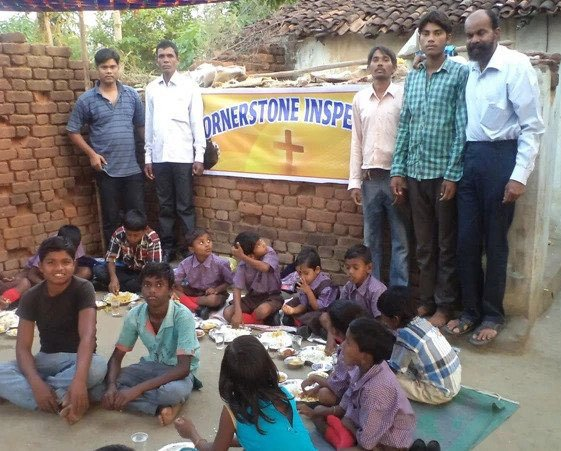 Elementary school kids (India)