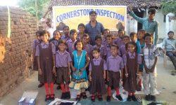 Elementary school class (India)
