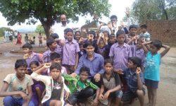 Kids and teachers (India)