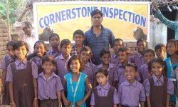 Kids class portrait (India)