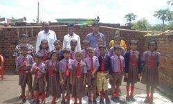 School kids in uniforms (India)
